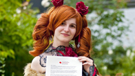 © Animexx e.V. / Deutsche Cosplaymeisterschaft ・ Fotograf: Heinz Meerkatz