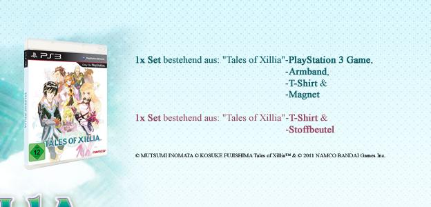 © MUTSUMI INOMATA © KOSUKE FUJISHIMA Tales of Xillia™ & © 2011 NAMCO BANDAI Games Inc.