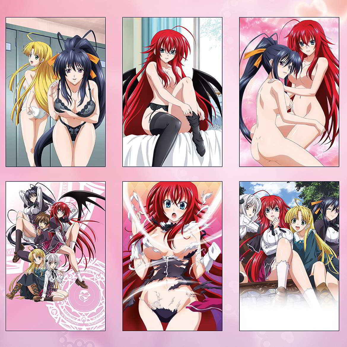 © Ichiei Ishibumi · Miyama-Zero / Fujimi Shobo / HIGH SCHOOL DxD Production Committee / VIZ Media Switzerland SA